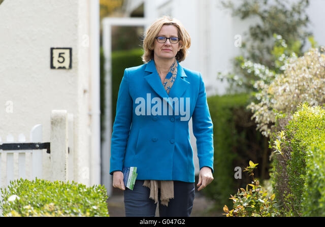Amber Rudd Conservative MP for Hastings and Rye and Secretary of State for Energy and Climate change. - Stock Image