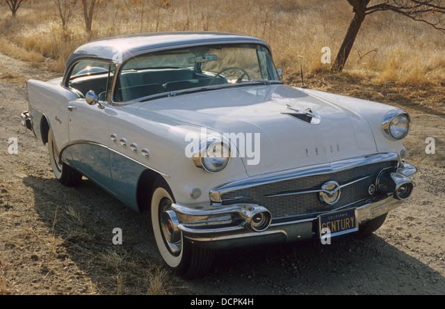 1956 BUICK CENTURY. Photo Nicky Wright - Stock Image