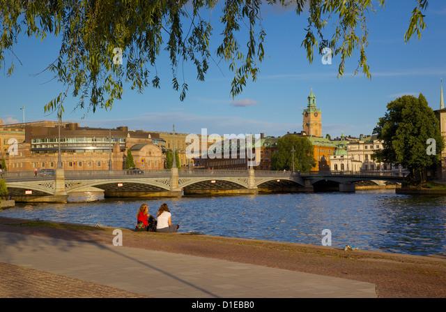 Swedish Parliament, Gamla Stan, Stockholm, Sweden, Scandinavia, Europe - Stock Image