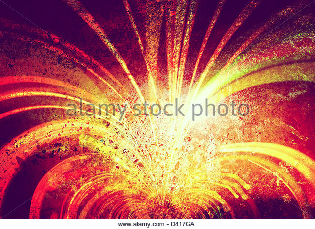 light streaks on textured background - Stock-Bilder