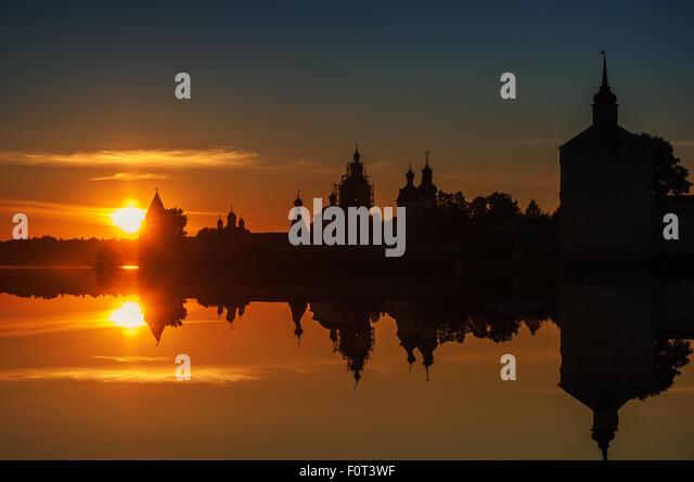 Kirillo-Belozersky Monastery - Stock-Bilder