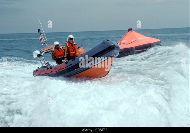 RNLI lifeboat - Stock Image