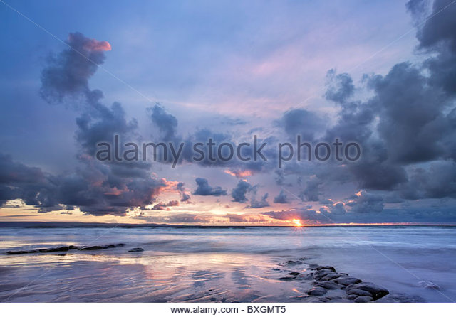 Dunraven Bay, South Glamorgan, Wales, UK - Stock-Bilder