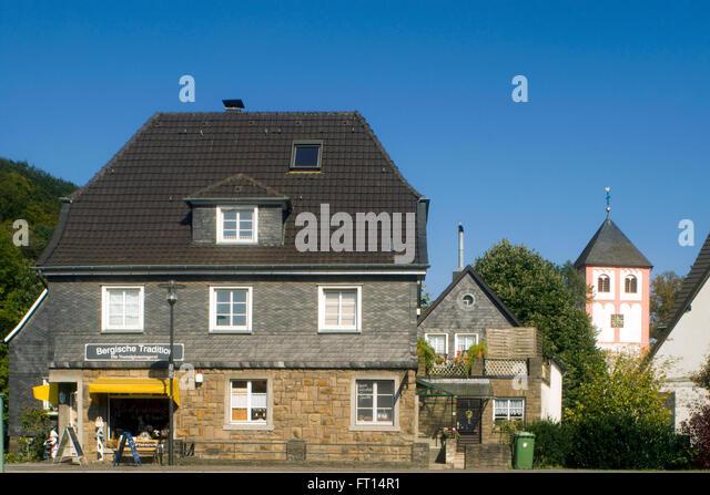 BRD, Nordrhein-Westfalen, Rheinisch-Bergischer Kreis, Odenthal, Architektur - Stock-Bilder