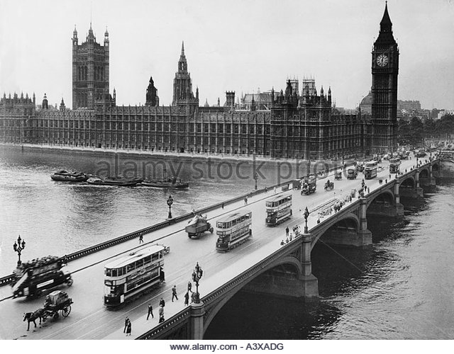'geography / travel, Great Britain, England, London, buildings, Houses of Parliament, Westminster, bell tower - Stock Image