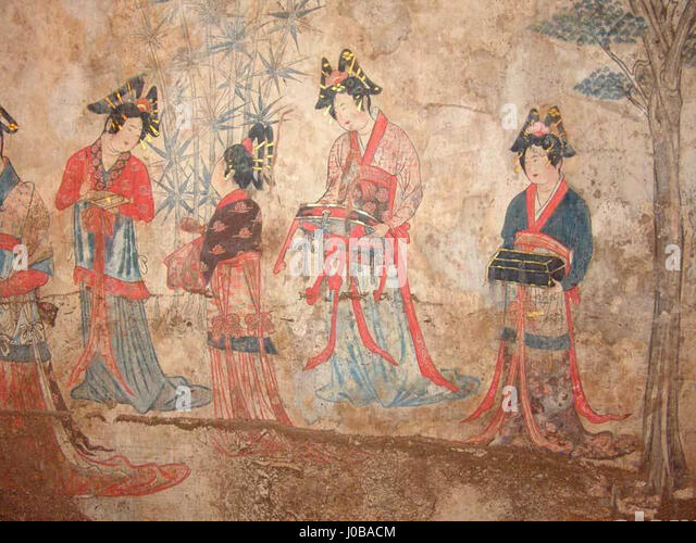 Liao dynasty stock photos liao dynasty stock images alamy for Dynasty mural works