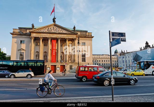 Staatsoper Unter den Linden, Berlin State Opera, Berlin, Germany, Europe - Stock-Bilder
