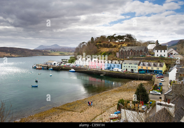 Portree Portree Town Stock Photos Portree Portree Town