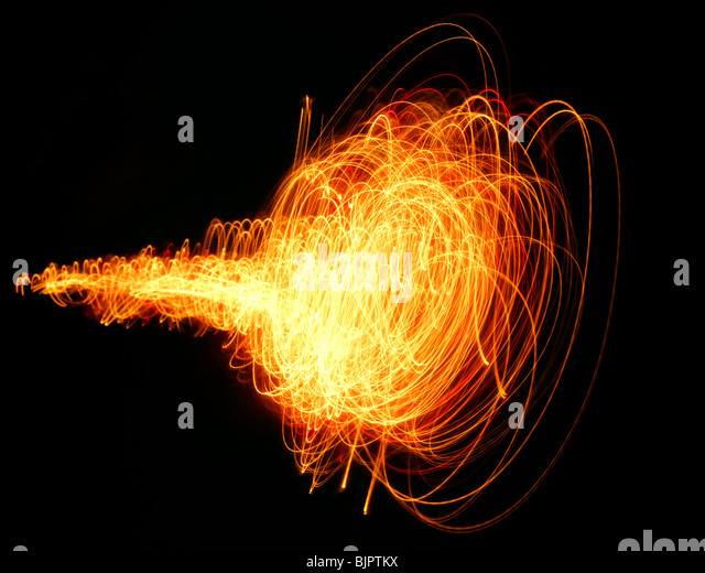 fireball energy - Stock Image