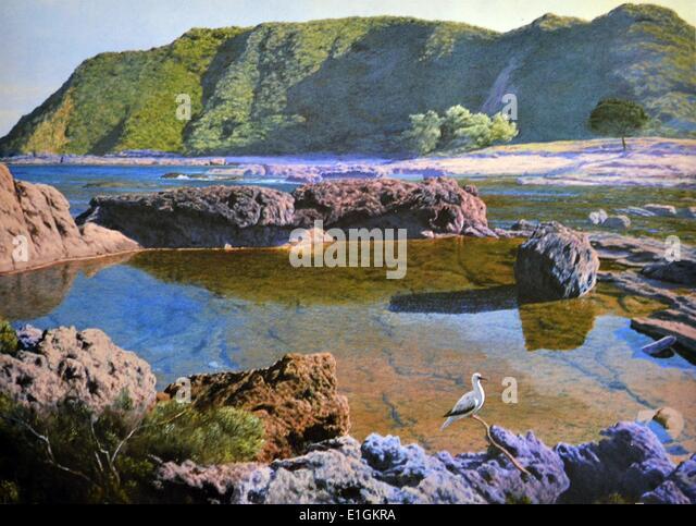 Amado A. Hidalgo, Tipanan, 1992.. Oil on canvas. - Stock Image