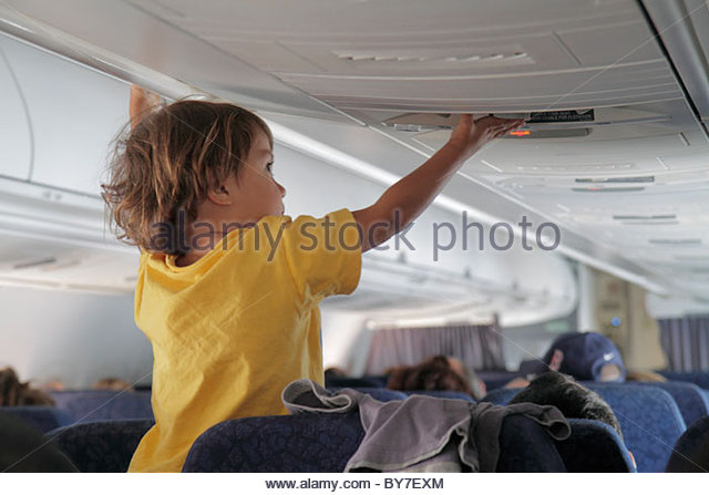 Baltimore Maryland BWI Baltimore Washington International Thurgood Marshall Airport AirTran Airways in-flight jet - Stock Image