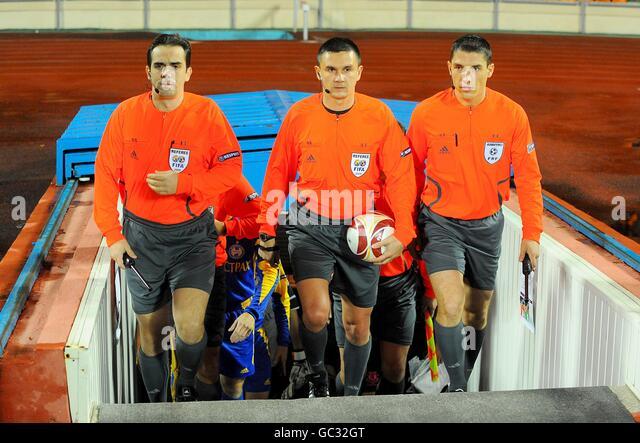 Soccer - UEFA Europa League - Group I - FC BATE Borisov v Everton - Dinamo Stadium - Stock Image