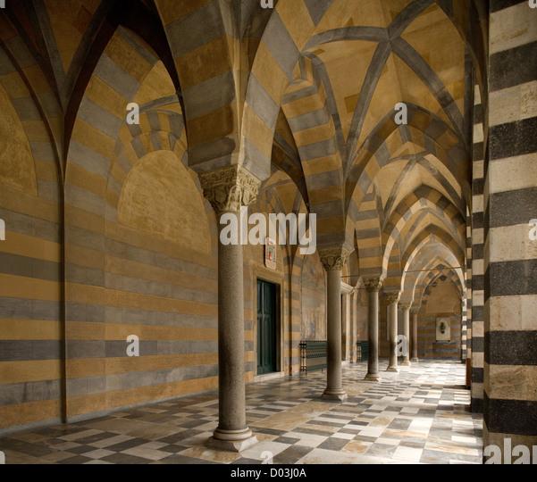 Cathedral Amalfi, Italy - Stock Image