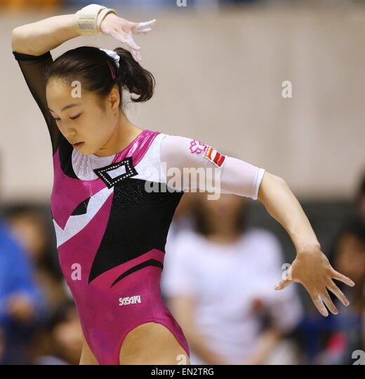 Natsumi Sasada, APRIL 26, 2015 - Artistic Gymnastics : The 69th All Japan Gymnastics Championship Wmen's Individual - Stock Image