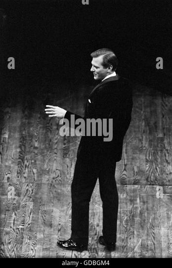 George Grizzard at the Guthrie Theatre - Stock Image