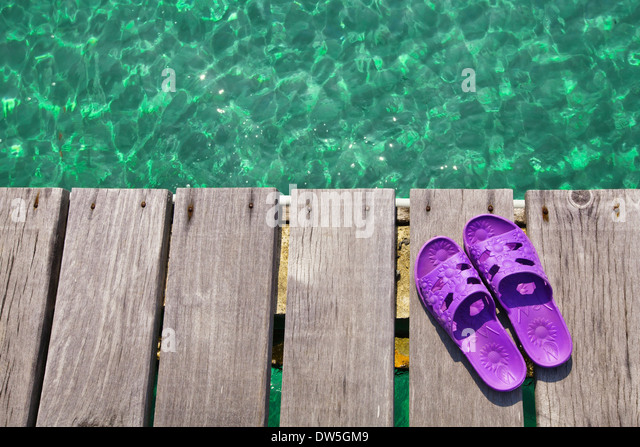 beach background - Stock Image