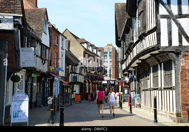 Worcestershire United Kingdom  city pictures gallery : Street Worcester Worcestershire England United Kingdom Europe Pictures ...