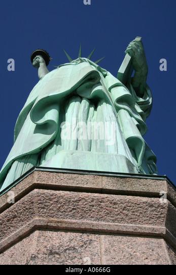 Statue of Liberty, Liberty Island, New York - Stock Image