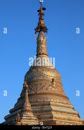 Myanmar, Burma, Kalaw, Aung Chang Tha Zedi, Shan State, - Stock-Bilder