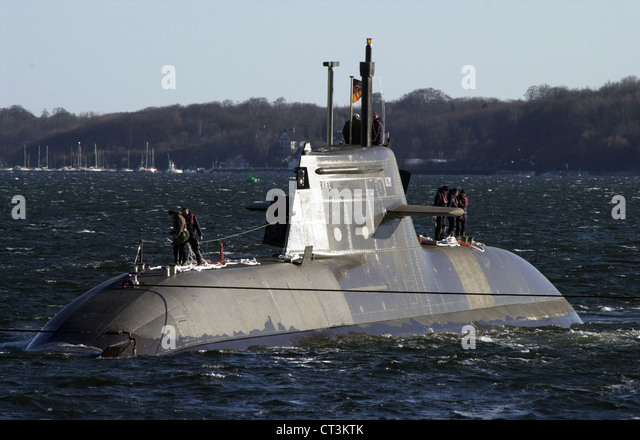 Kiel, fuel cell submarine U-31 - Stock Image