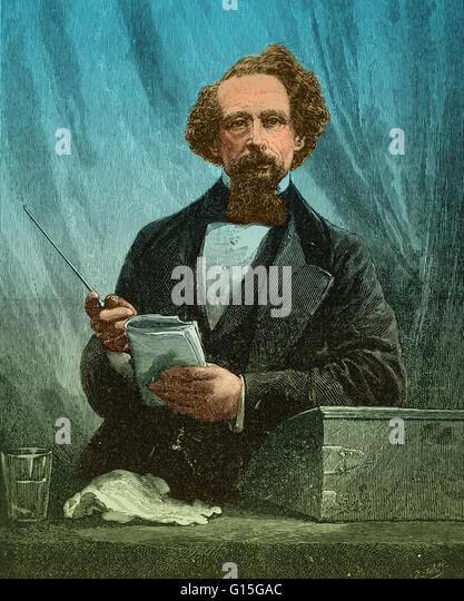 Charles John Huffam Dickens Biography