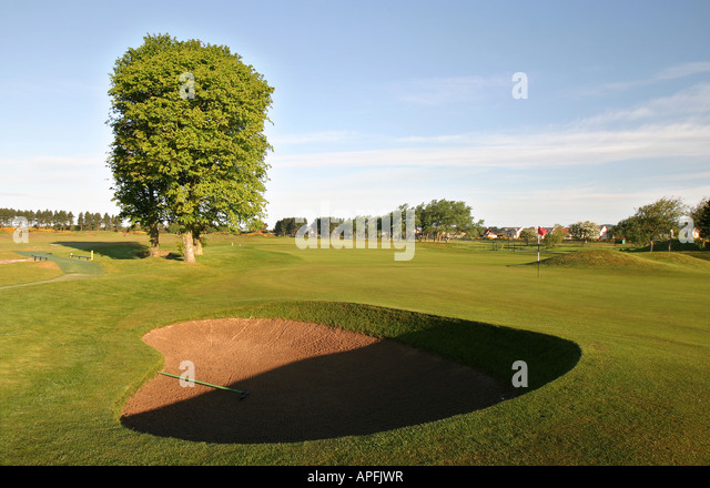 Carnoustie Championship Golf Links 10th Hole scotland open 2007 - Stock-Bilder