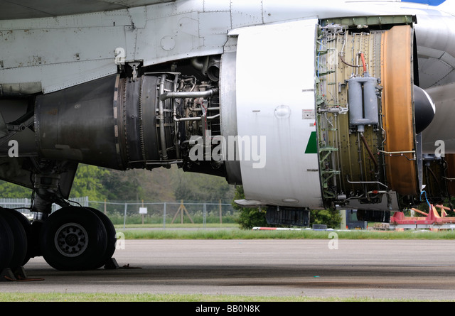 Jet Engine - Stock Image