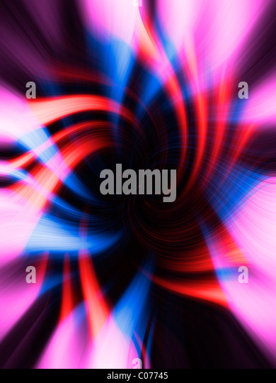 Intertwined lines, bright, graphic, background - Stock Image