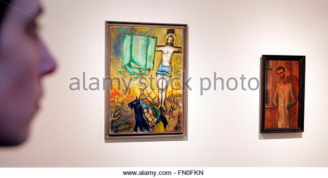 19 07 1942 Stock Photos & 19 07 1942 Stock Images - Alamy Chagall Crucifixion In Yellow