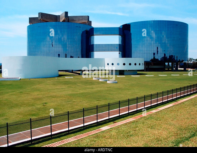 Office of the Attorney General of Republic, Brasilia, Brazil - Stock Image
