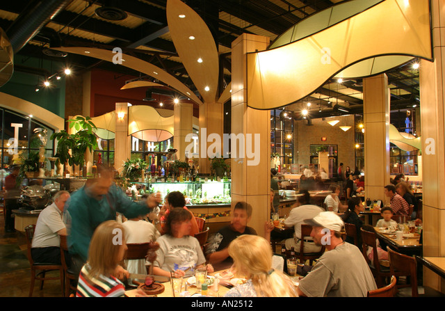 Albuquerque New Mexico Route Central Avenue Tuconos Brazilian Grill dining nightlife W - Stock Image
