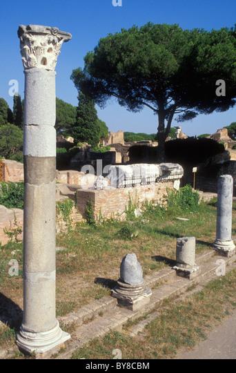OSTIA ANTICA, ANTIQUITY, ROME, ITALY - Stock Image