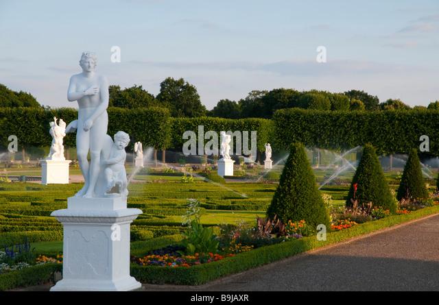 Hannover, Barockgarten Großer Garten Herrenhausen, Niedersachsen, Hannover Great Garden Herrenhausen Lower - Stock-Bilder
