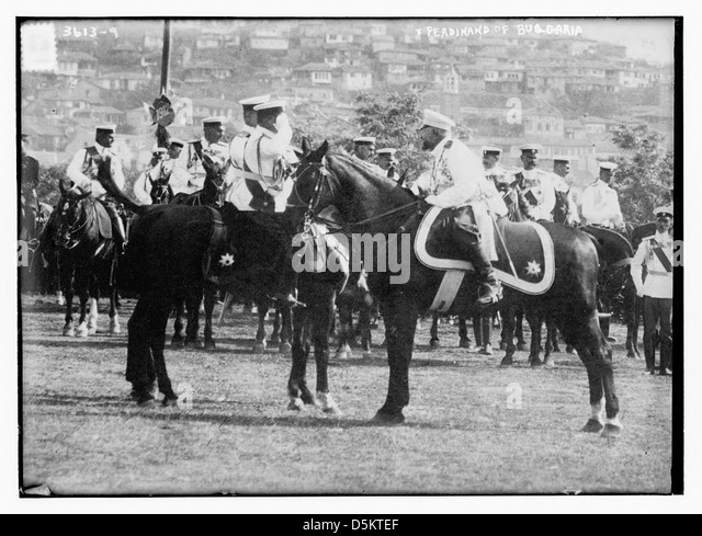 Ferdinand of Bulgaria (LOC) - Stock Image