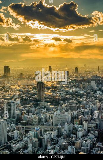 Township, tokyo, japan - Stock-Bilder