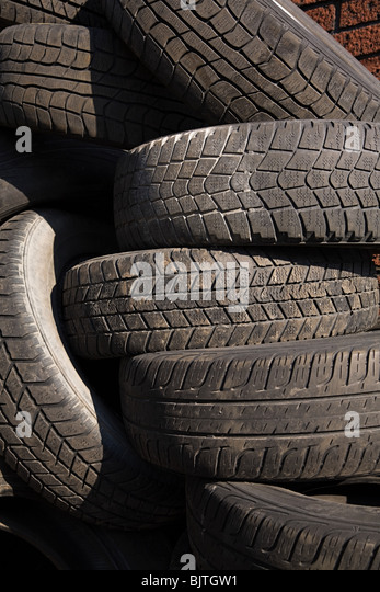 Tyres - Stock Image