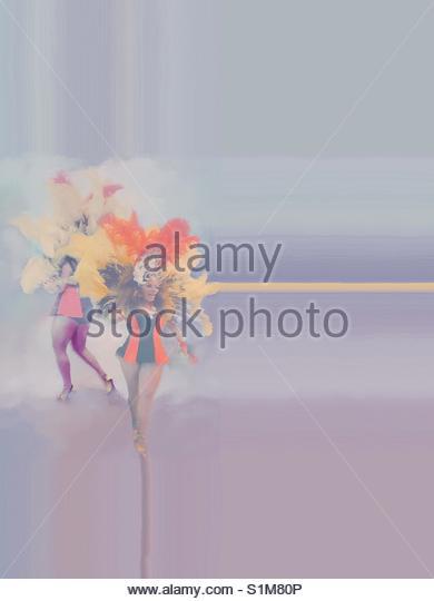 Brazilian dancer' - Stock Image