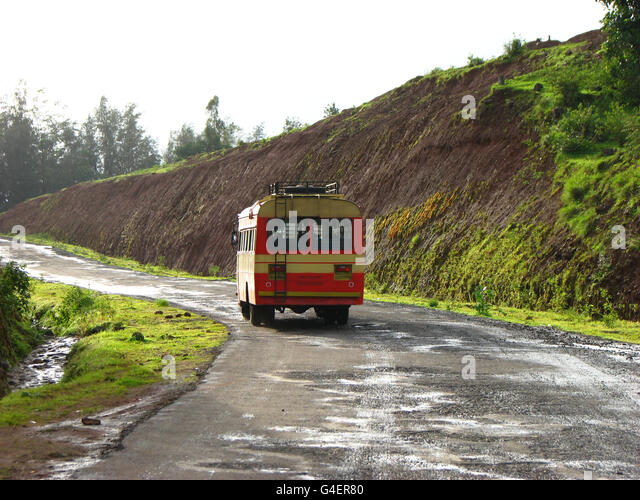 Indian Transport Bus - Stock Image