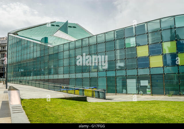 Urbis is an exhibition centre located in central Manchester; England, United Kingdom. - Stock Image