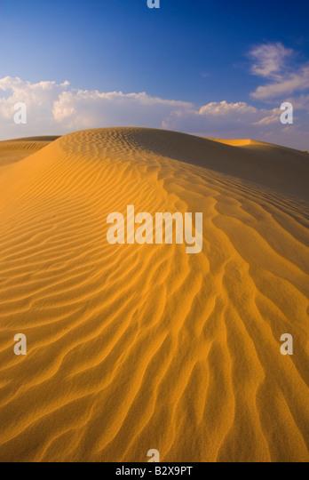 Sam Sand Dunes, Great Thar Desert, Rajasthan, India, Subcontinent, Asia - Stock-Bilder