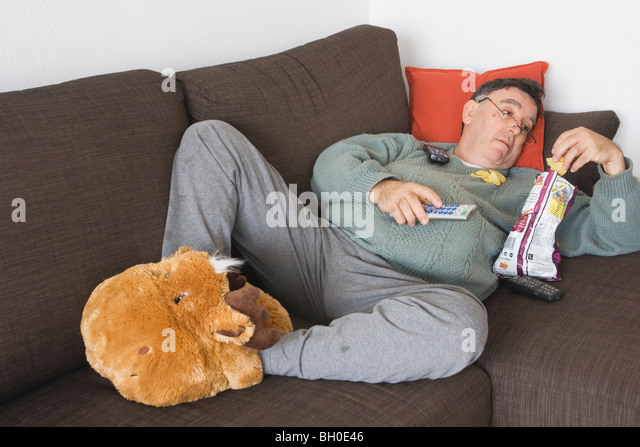 slob man stock photos slob man stock images alamy. Black Bedroom Furniture Sets. Home Design Ideas
