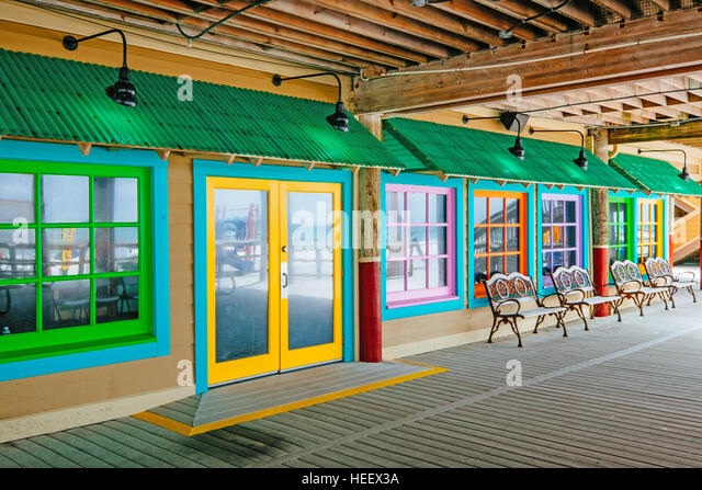 A colorful store front. - Stock Image