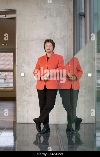 Brigitte Zypries, Minister of Justice - Stock Image
