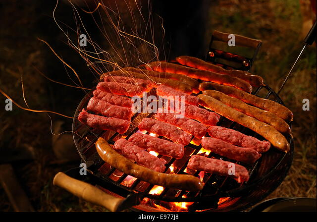 Banquet On Stock Photos amp Banquet On Stock Images Alamy : sausages on grill e977j8 from www.alamy.com size 640 x 448 jpeg 91kB
