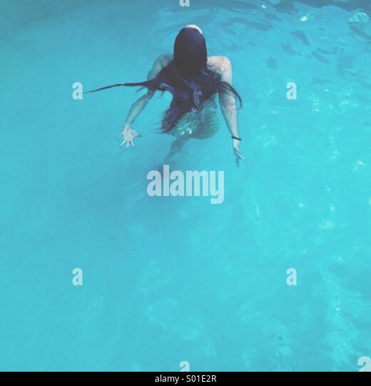 Swimmer - Stock Image