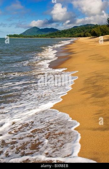 australia, beach, beautiful, cairns - Stock Image