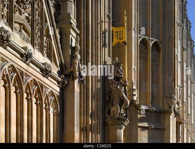 House of Parliament, Westminster, London. - Stock Image
