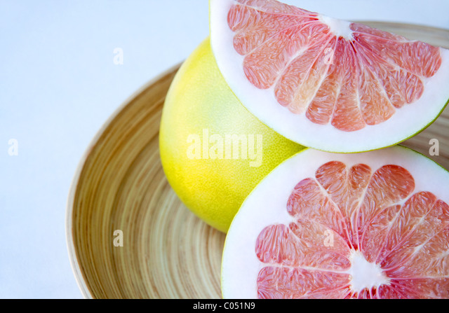 Fresh Pomelo Fruit - Stock Image
