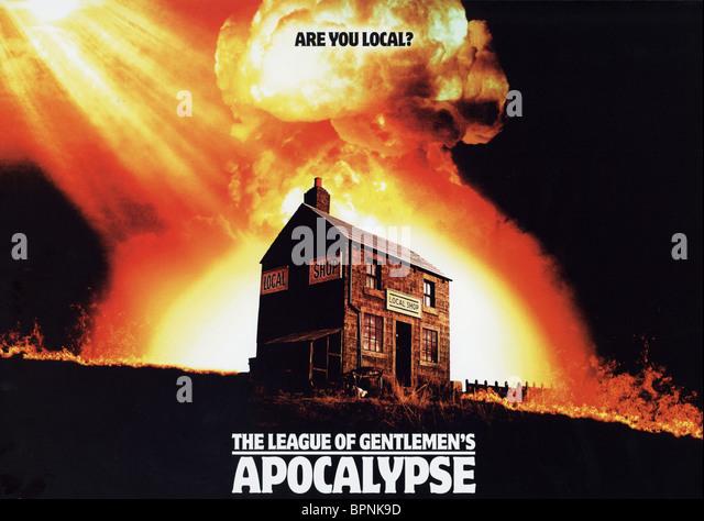 FILM POSTER THE LEAGUE OF GENTLEMEN'S APOCALYPSE (2005) - Stock-Bilder