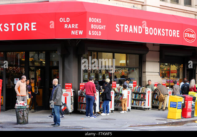 The Strand Bookstore NYC - Stock Image